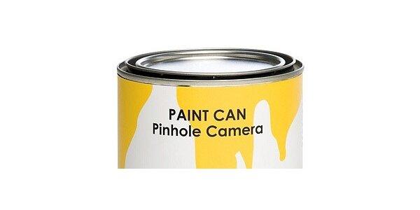 Paint Can Camera – funkční fotoaparát, ideální hračka pro všechny fotografy