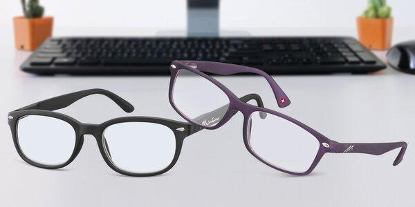 Brýle na počítač s ochranou proti modrému světlu