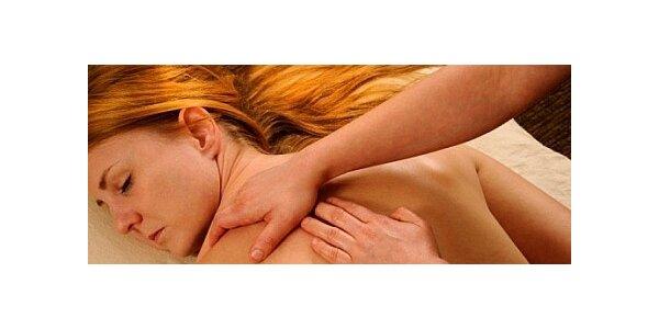 Hodinová relaxační aromaterapeutická masáž