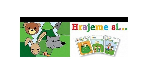 Hrajeme si…V parku a lesoparku - balíček oblíbených her pro děti.