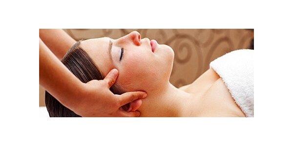 Komplexní ošetření šíje, ramen, dekoltu a hlavy