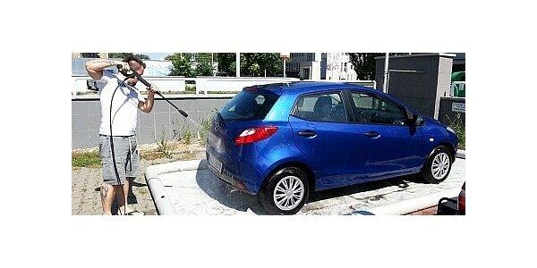 Mobilní myčka aut - proč jezdit do myčky, když myčka přijede za Vámi.