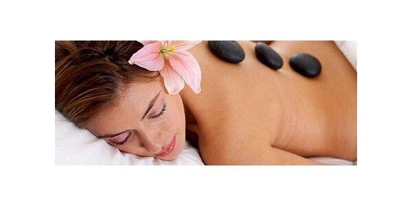 Relaxační masáž lávovými kameny cca. 50 - 60 minut