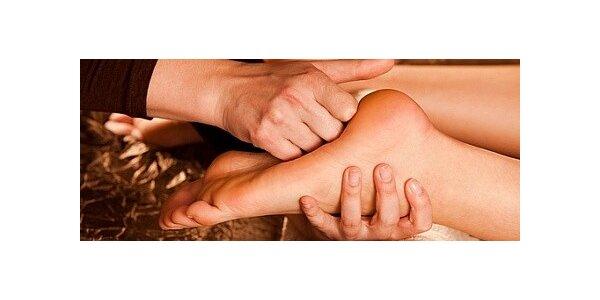 Reflexní masáž nohou v rekondičním centru Fénix