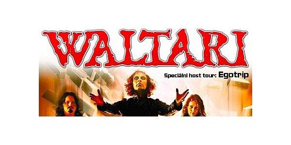 Koncert skupiny WALTARI (Finsko) v Ostravě