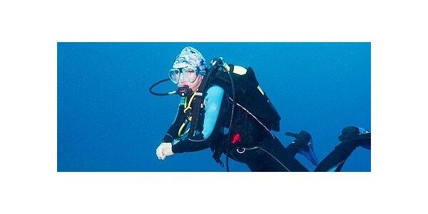 Potápění s instruktorem na zkoušku