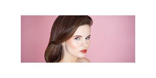 Portrétní foto s exklusivním makeupem