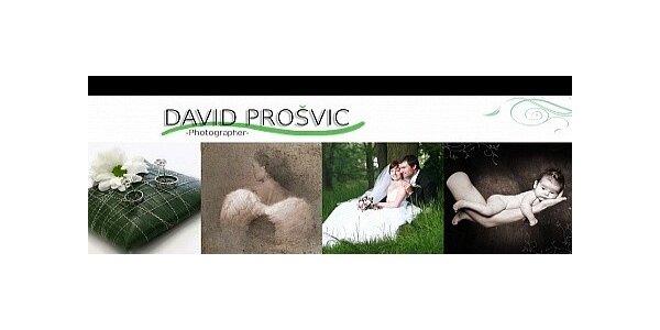 4 profesionální portréty A5, v ateliéru Davida Prošvice