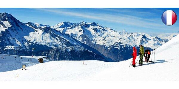 4 nebo 5 dní lyžování ve francouzských Alpách