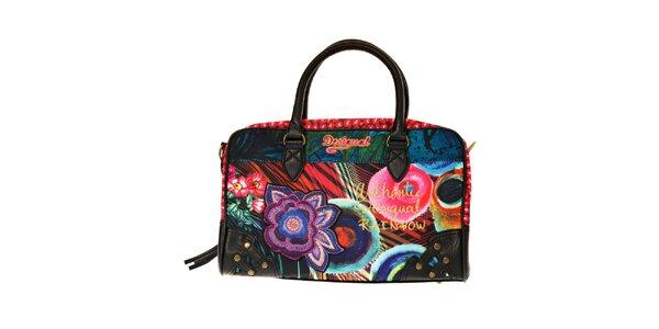 Dámská pestrobarevná kufříková kabelka Desigual