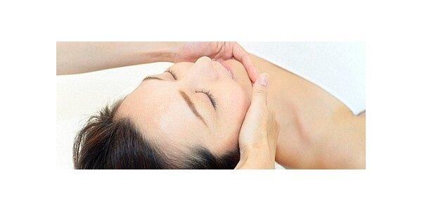 Lymfodrenážní masáž obličeje, krku a dekoltu