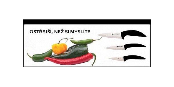 Sada tří keramických nožů Homeware