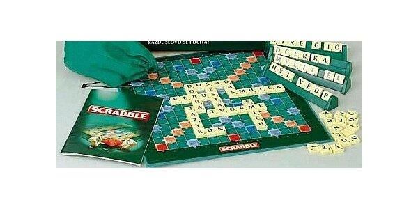 Rodinná hra Scrabble pro 2 až 4 hráče