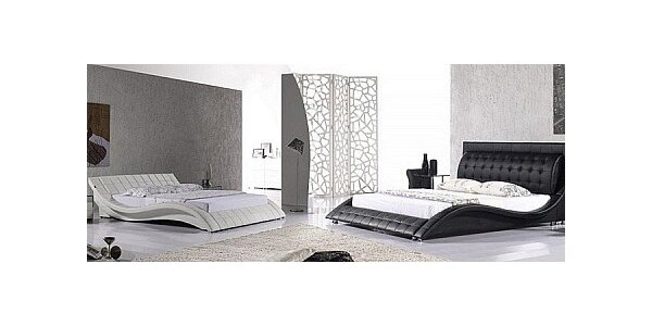 Luxusní manželské postele