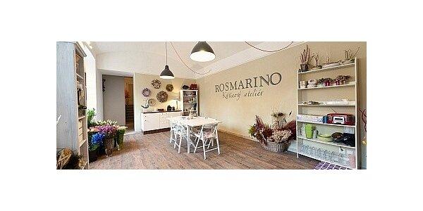 Základy aranžování květin v ateliéru ROSMARINO