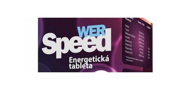 100 energetických tablet Werspeed pro lepší den.