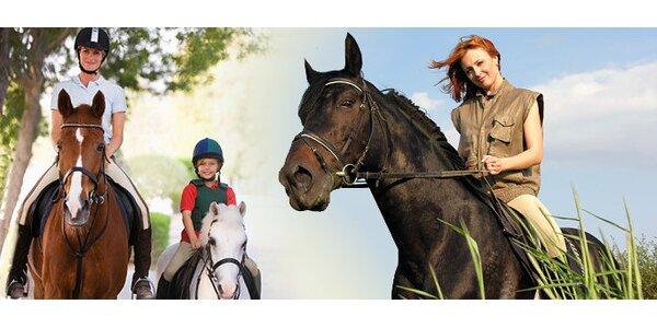 Jízdy na koni včetně instruktora pro začátečníky i pokročilé