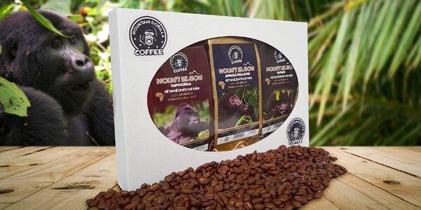 Degustační balíček 3 druhů káv Mountain Gorilla