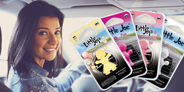 Stylové 3D vůně do auta Little Joe a Little Joya