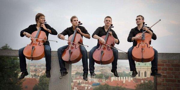 Vstupenka na koncert Prague Cello Quartet