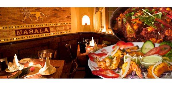 Cokoli z jídelního lístku indické restaurace Masala Pod Karlovem!