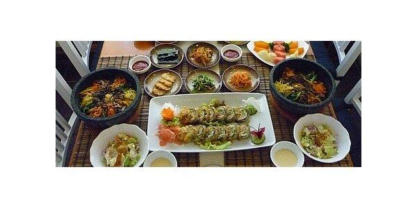 Výtečné korejské menu pro 2 osoby v restauraci Seoul Garden