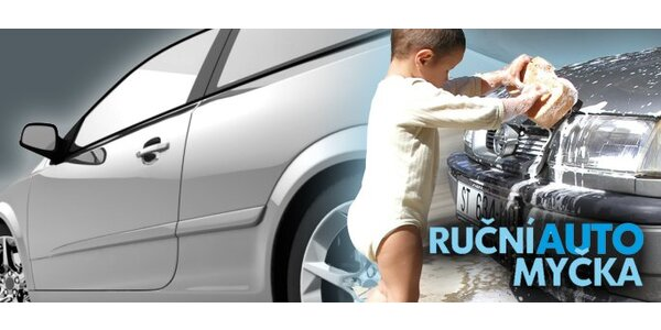 Zimní servis pro auto. Ruční mytí, navoskování, impregnace těsnění