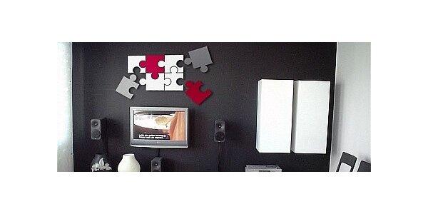 Originální 3D dekorace vhodné do všech interiérů
