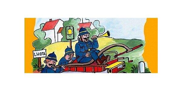 Kniha pro děti plná krásných českých říkadel a ilustrací