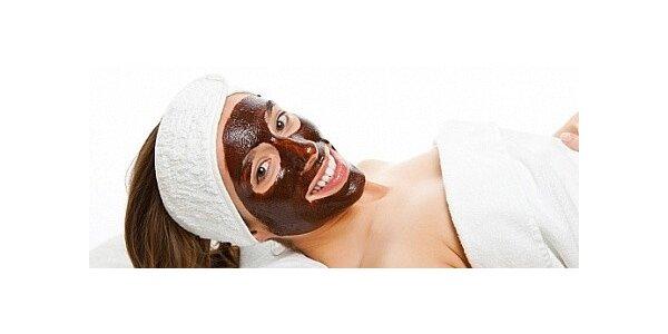 Čokoládová hydratace obličeje a dekoltu