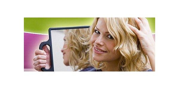 Střih vlasů včetně kompletní úpravy a regenerační zábal zdarma