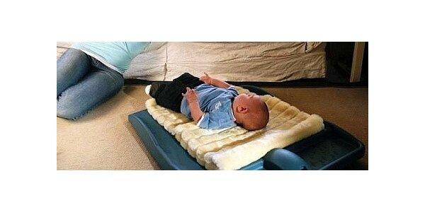 Plošinka ROBOPAX - pro klidný spánek vašeho miminka.