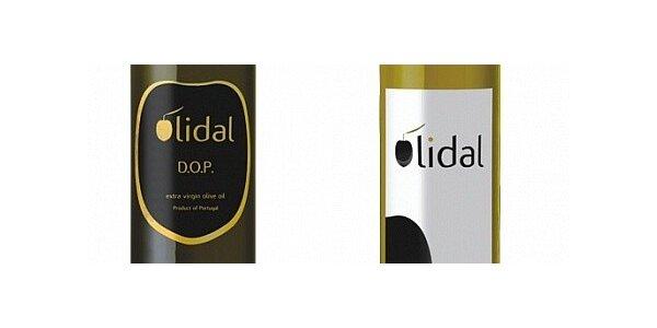 4x extra panenský olivový olej OLIDAL - 2x 0,75L a 2x 0,5L