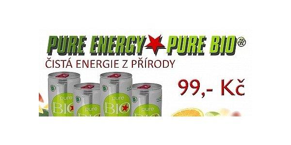 První BIO Energetický nápoj na českém trhu - 4 ks