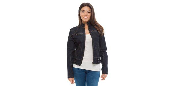 Dámská tmavě modrá džínová bunda Ada Gatti