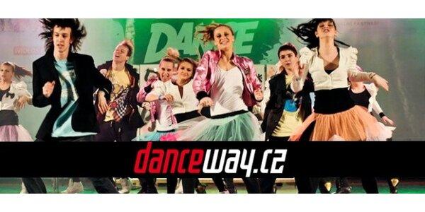 Tři taneční lekce street dance ve škole DANCEWAY!
