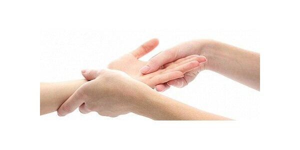 Parafínový zábal na ruce s peelingem