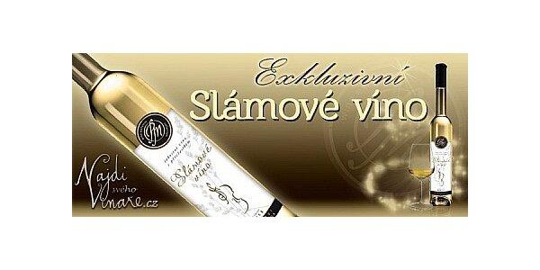 Exkluzivní slámové víno z předního moravského vinařství