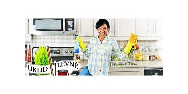 Kompletní úklid Vašeho bytu vč. mytí oken do 70 m2