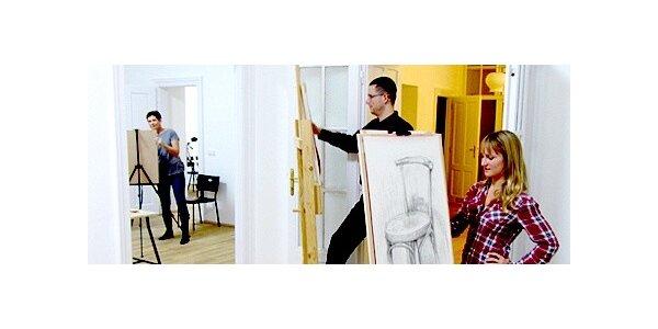 Večerní kresba pod vedením zkušených lektorů v Brně