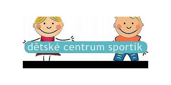 Dětské centrum Sportík nabízí celodenní hlídání dětí