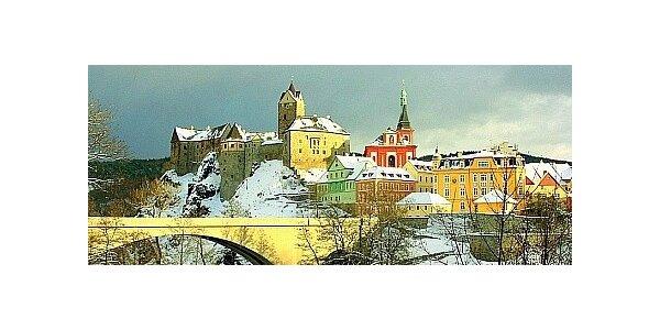Pobyt pod hradem Loket u Karlových Varů pro 2 osoby na 3 dny