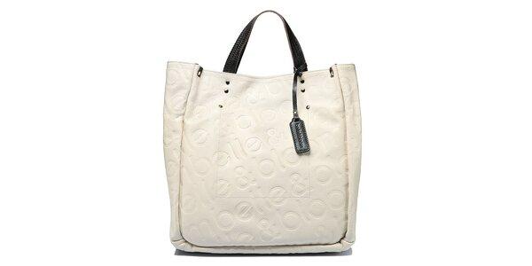 Dámská krémová kabelka Belle&Bloom