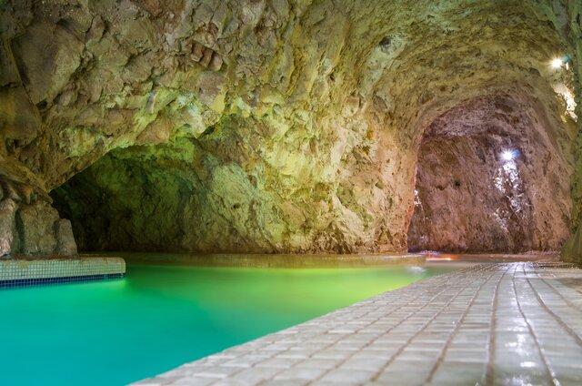 Jeskynní a léčebné lázně Miskolctapolca