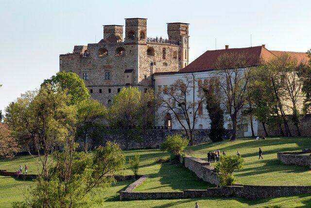 Rákócziho hrad v Sárospataku