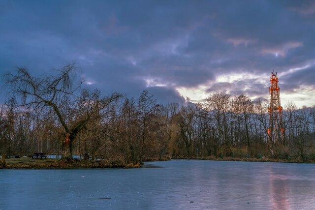 Jezero Sástó a rozhledna