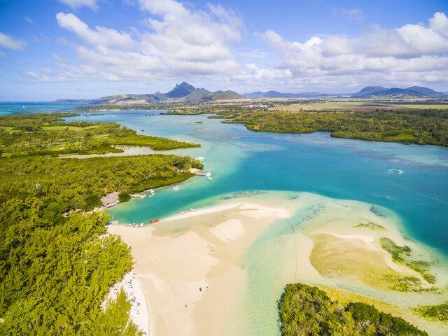 Ostrov Île aux Cerfs