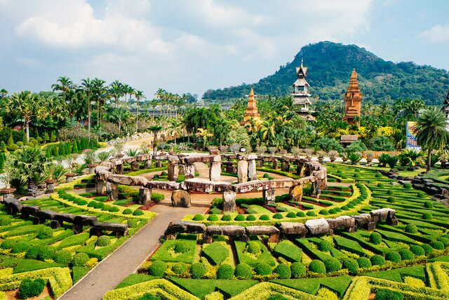 Tropická zahrada Nong Nooch