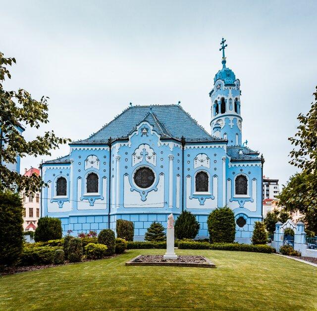 Kostel sv. Alžběty