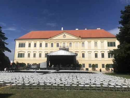 Jarek Nohavica - koncert v parku zámku Valtice